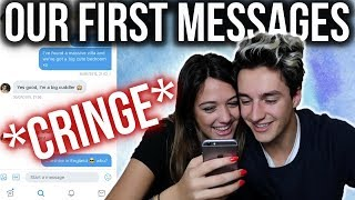 Download READING OUR FIRST MESSAGES TO EACH OTHER!! (LDR) *CRINGE* Video