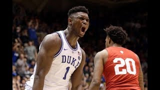 Download 5 Minutes of Zion Williamson DOMINATING College Basketball Video