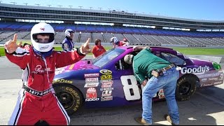 Download FIRST TIME GOING 200MPH (Driving a NASCAR) Video