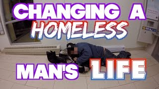Download Changing a HOMELESS man's LIFE Video
