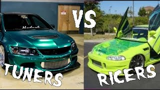 Download Tuners vs Ricers, The key differences Video