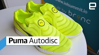 Download Puma Autodisc self-lacing shoes: Hand's-On Video