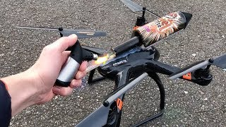 Download Rocket powered RC Drone !! Amazing Air Launch Video