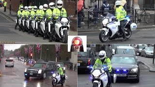 Download Special Escort Group Compilation - President Obama in London Video