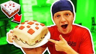 Download MAKING A REAL EDIBLE MINECRAFT CAKE! DIY CAKE! Video