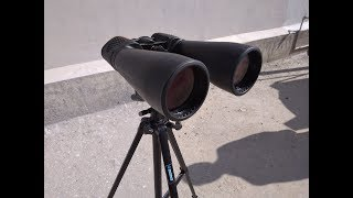 Download CELESTRON SKYMASTER 25X70 BINOCULARS - Magnification test review Video