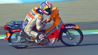 Download Haha!! FUNNIEST RACE of Marc Marquez vs Dani Pedrosa of MotoGP Video