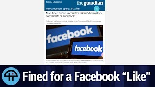 Download Fined For Liking a Facebook Comment Video