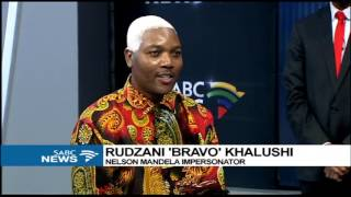 Download Rudzani 'Bravo' Khalushi impersonates Mandela Video