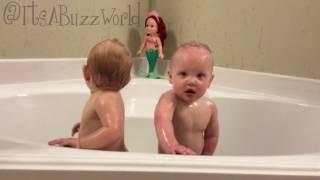 Download Wild girls at bath time tonight Video