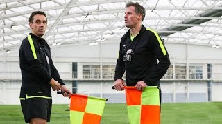Download Gary Neville & Jamie Carragher Train to be Linesmen! | The Referees Part 2 Video