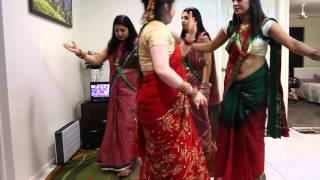 Download Teej Ko ayo lahar, Teej dance 2014 Video