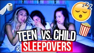 Download High School Sleepovers Vs. Child Sleepovers! | MyLifeAsEva Video