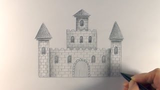 Download R.E.A.P: Concept Art: How to Draw a Castle Video
