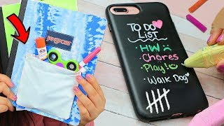 Download DIY Weird Back To School Supplies HACKS YOU NEED TO TRY! 2017 Video
