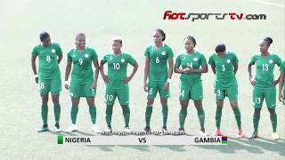 Download Highlights: Falcons Spell Gambia In 6-Nil Thrashing Video