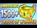 Download UNBOXING OVER 1500 TROVE OF WONDER (ToW) BOXES IN TROVE! Video