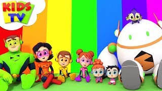 Download Colors Of The Rainbow Song | The Supremes | Kindergarten Learning & Children Rhymes - Kids TV Video