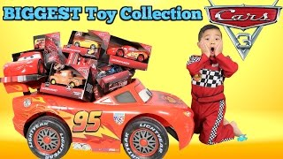 Download BIGGEST Disney Cars 3 Toy Collection Ever Delivered By Lightning McQueen For Ckn Toys Video