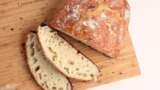 Download No-Knead Rustic Bread Recipe - Laura Vitale - Laura in the Kitchen Episode 1025 Video