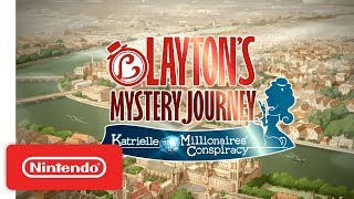 Download Layton's Mystery Journey - Nintendo 3DS Launch Trailer Video
