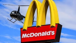 Download McDonald's Drive-Thru in a Helicopter Video