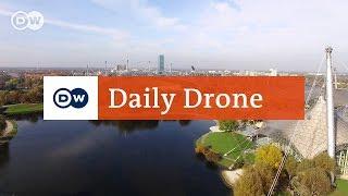 Download #DailyDrone: Olympiapark, Munich Video