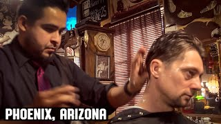 Download 💈 America's Most Polite Barber - Haircut at The House of Shave Barber Parlor, Phoenix Arizona. Video