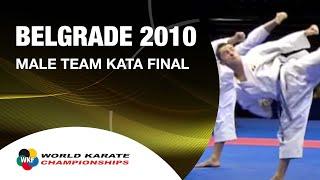 Download Karate Male Team Kata Final - Japan vs. Italy - WKF World Championships Belgrade 2010 (2/2) Video