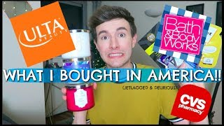 Download WHAT I BOUGHT IN AMERICA!! CVS,ULTA, BATH&BODY WORKS! Video