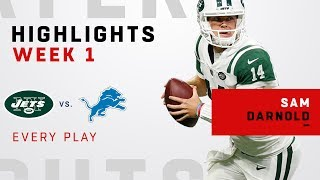 Download Every Sam Darnold Play from NFL Debut! Video