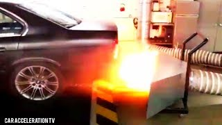 Download BMW 535i E34 Turbo Dyno Run Acceleration Sound & Back Fire Video