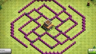 Download EPIC TOWN HALL 8 (TH8) Trophy Base - The Ball - Clash Of Clans Video