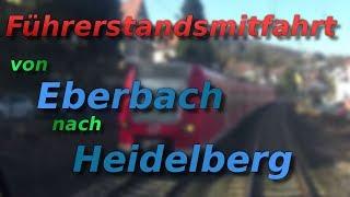 Download Führerstandsmitfahrt von Eberbach nach Heidelberg Video