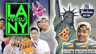 Download DIFFERENCES BETWEEN LA & NEW YORK Video