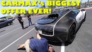 Download Taking a $2Million Bugatti Veyron Mansory to CarMax for an Appraisal Video