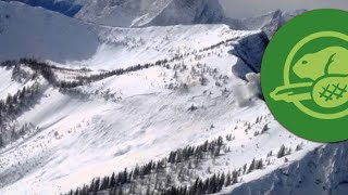 Download Canadian Rockies Highway Avalanche Control - Kootenay National Park - March 10, 2014 Video