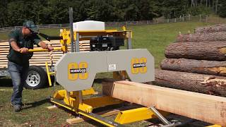 Download The Affordable, Easy-to-Use & Reliable Sawmill You've Been Looking for - The Frontier OS27 Video