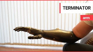 Download 'Terminator' arm is world's most advanced prosthetic limb Video