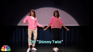 Download Evolution of Mom Dancing Part 2 (w/Jimmy Fallon & Michelle Obama) Video