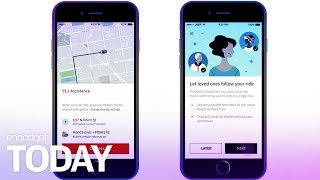 Download Uber unveils much-needed passenger safety features | Engadget Today Video