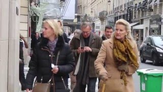 Download Inspirational looks from Chic Parisians. Paris street style. Video