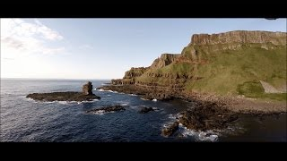 Download The Giants Causeway - Northern Ireland By Drone Video