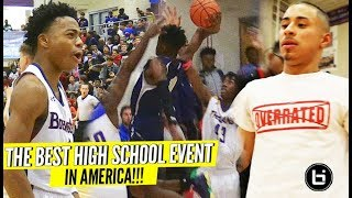 Download Jalen Lecque, Julian Newman, SOLD OUT Crowds at BEST Event of 2018: John Wall Holiday Invitational!! Video