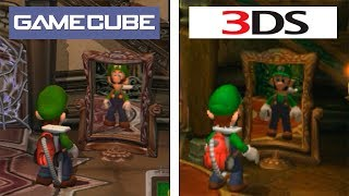 Download Luigi's Mansion   Gamecube VS 3DS   Graphics Comparison   Comparativa FINAL Video