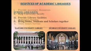 Download Types of Libraries : Their Roles, Functions and Services. Video