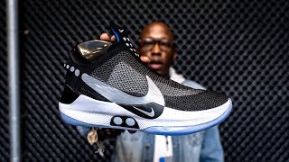 Download HANDS ON: Nike ADAPT BB Self-Lacing BASKETBALL SNEAKER Video