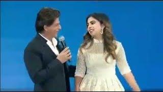 Download हिंदुस्तान के सबसे अमीर आदमी की बेटी Isha Ambani के साथ Shahrukh Khan ने की खूब मस्ती Video