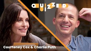 Download Charlie Puth Gets QUIZZED by Courteney Cox on 'Friends' | Billboard Video