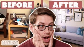 Download Keith & Becky's $3,000 Junk Room Makeover • Try DIY Video